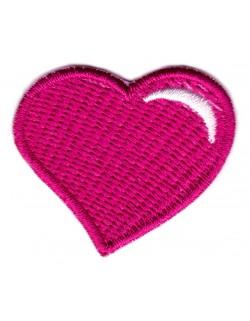 Serce - róż