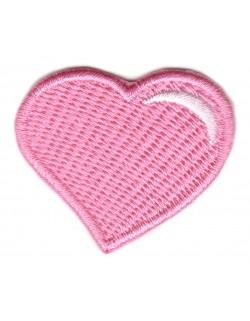 Serce - blady róż
