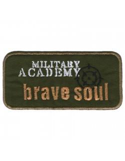 Military Academy brave soul - zielono-beżowy