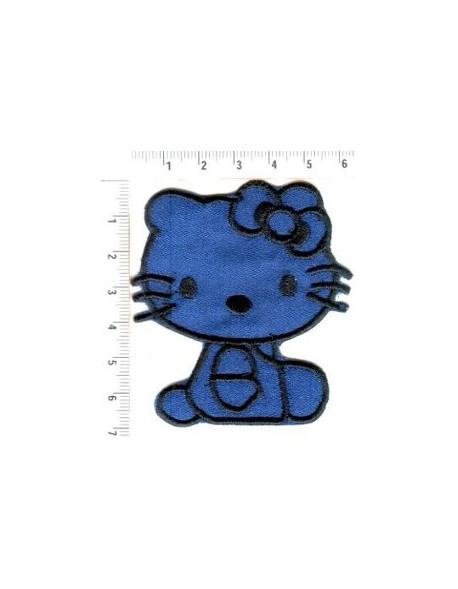 Hello kitty-granatowe