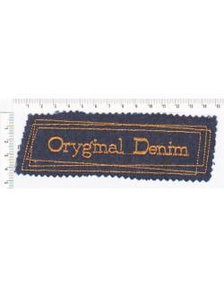 Oryginal denim - pomarańczowa