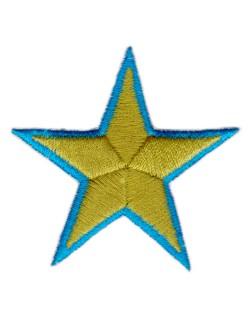 Gwiazdka zielono-zółta