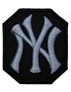 NY Yankees grafitowo - czarna