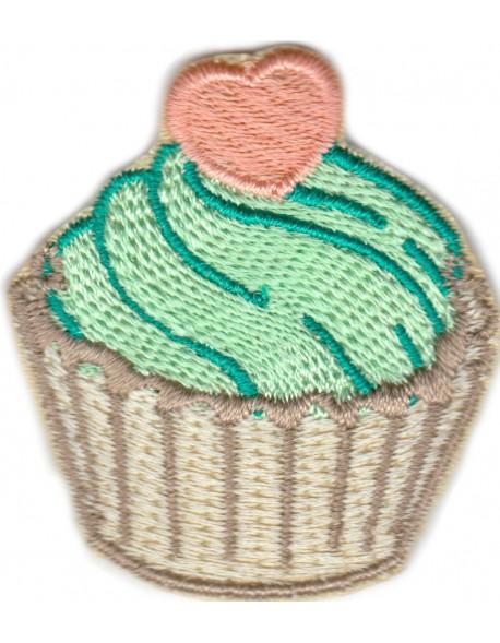 Muffinka Cupcake miętowa