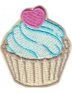 Muffinka Cupcake błękitna