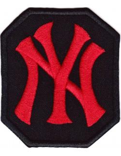 NY Yankees - czarno-czerwona