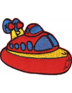 Poduszkowiec- czerwony
