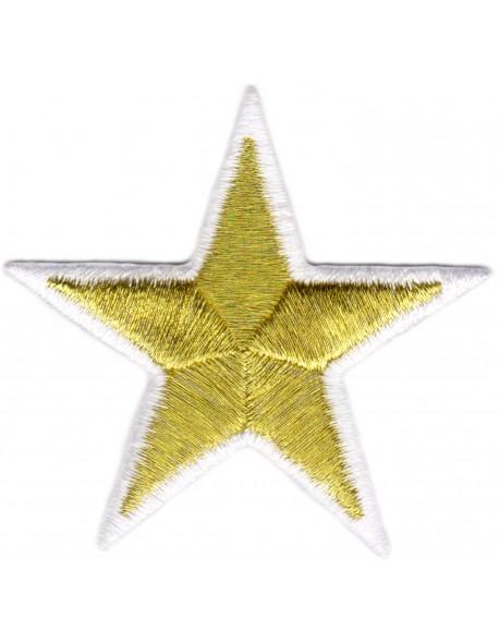 Gwiazdka złoto-biała
