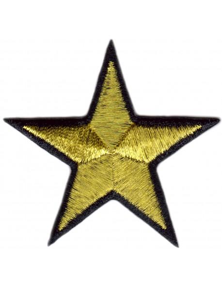 Gwiazdka złoto-czarna
